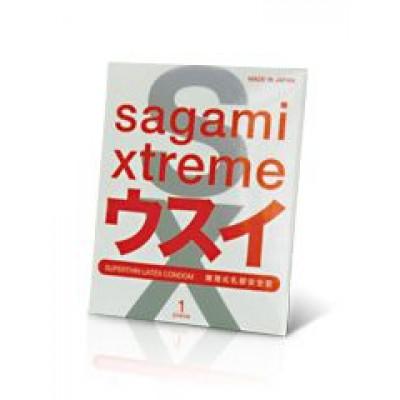 Ультратонкий презерватив Sagami Xtreme Superthin - 1 шт.