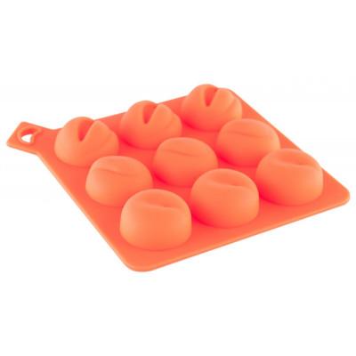 Формочка для льда оранжевого цвета